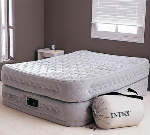 Надувной матрас для сна с насосом- цена, фото, рейтинг.