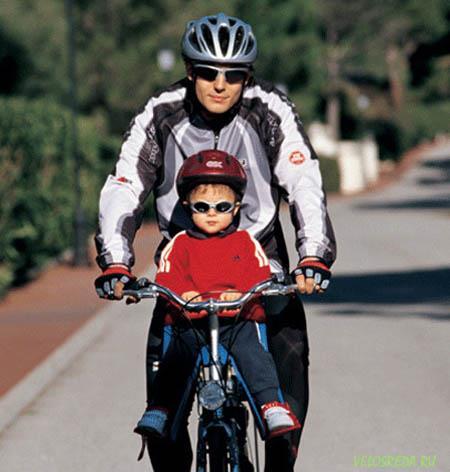 Переднее детское велокресло