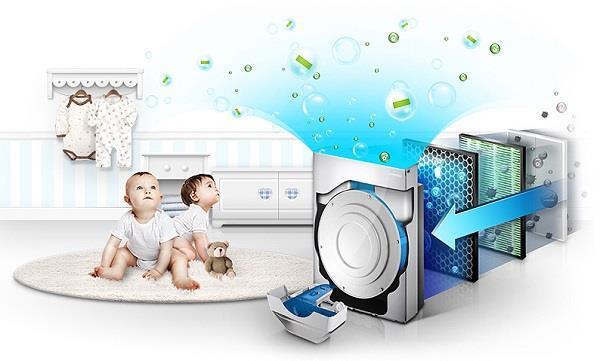 Очистительная система в детской комнате
