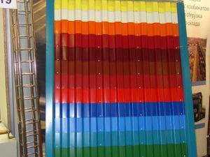 Существует 213 цветов профнастила