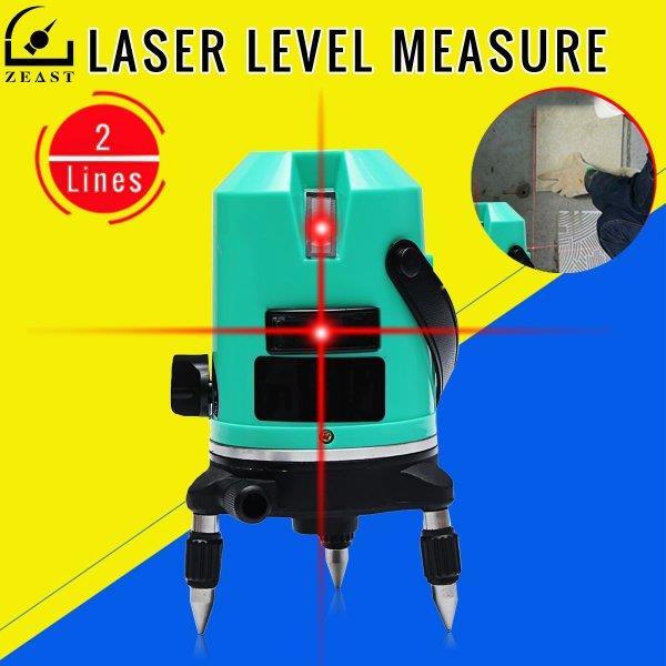Профессиональный лазерный уровень с двумя линиями ZEAST