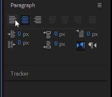 Добавление текста в After Effects