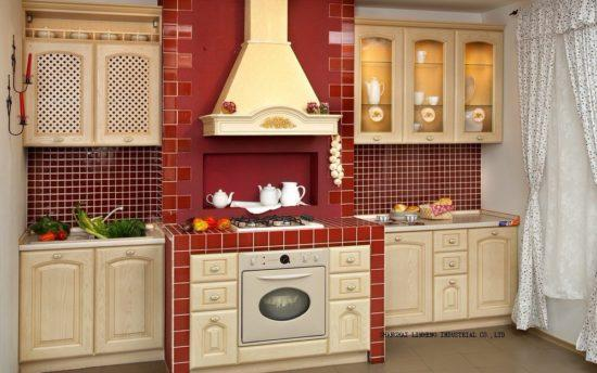 Классическая кухня с пластиком HPL