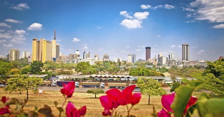 Богатый район Вестландс в Найроби