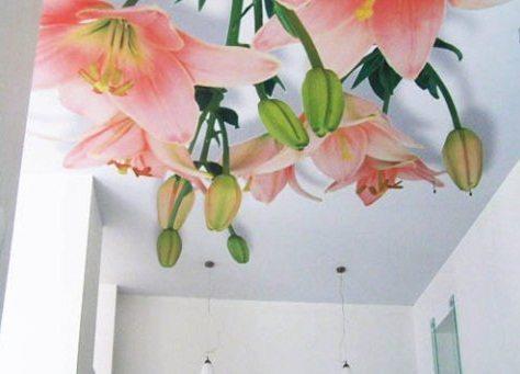 Арт-потолок – это тоже искусство!