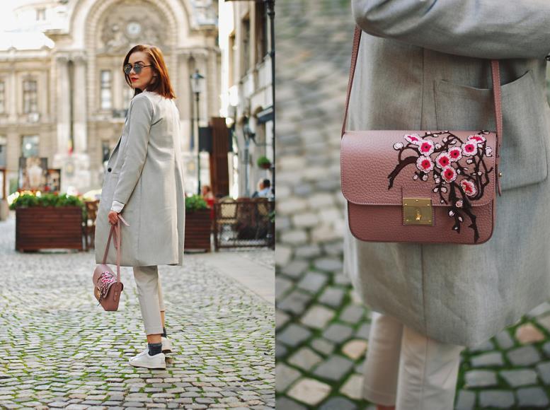 Подбираем сумку к пальто по цвету