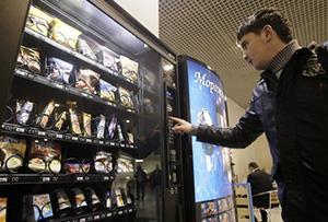 вендинговый автомат по продаже снеков