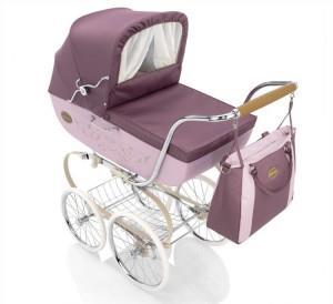 классическая коляска люлька для новорожденного