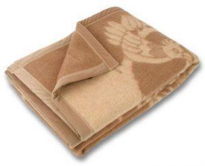 теплое одеяло шерстяное