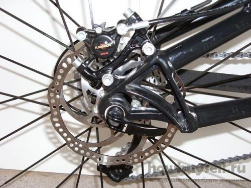 Дисковые тормоза велосипеда