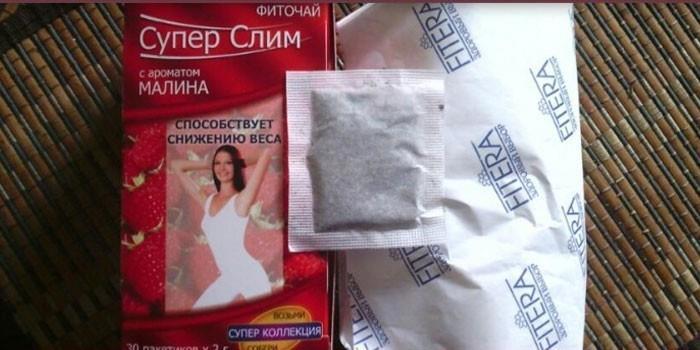 Чай Супер Слим в упаковке