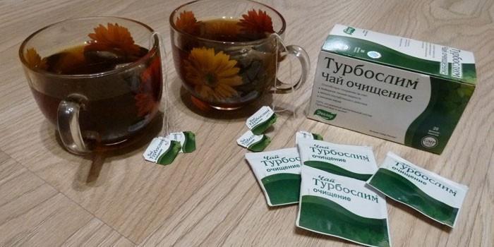 Очищающий чай из линейки Турбослим