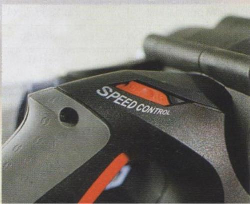 Регулировка скорости вращения ленты в ленточной шлифовальной машинке