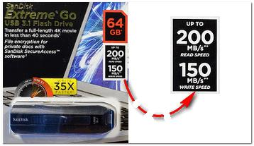 SanDisk - USB Flash Drive Extrime Go
