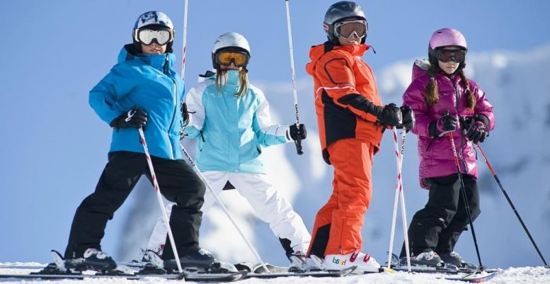 Как выбрать детские горные лыжи