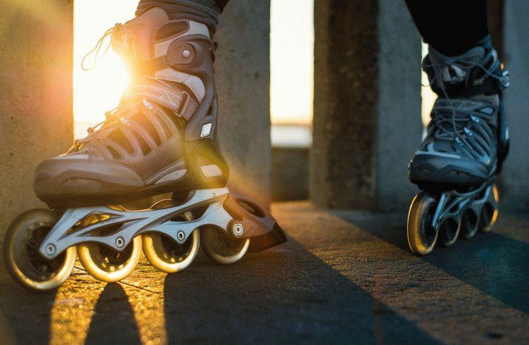 ботинки роликовых коньков