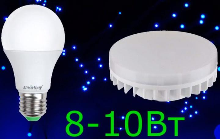 оптимальная мощность для лампы груша или таблетка