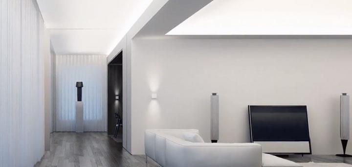 естественный нейтральный белый свет освещения пример