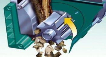Фрезерные измельчители предназначены для древесины
