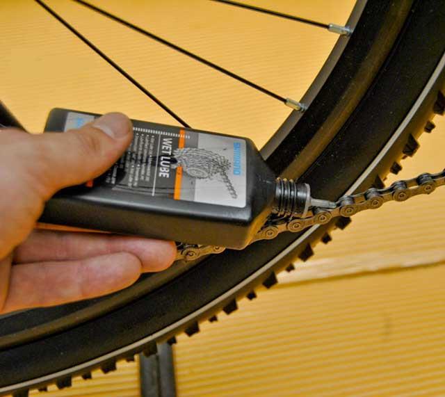 Чем можно смазывать цепь велосипеда?