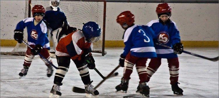 маленькие-хоккеисты