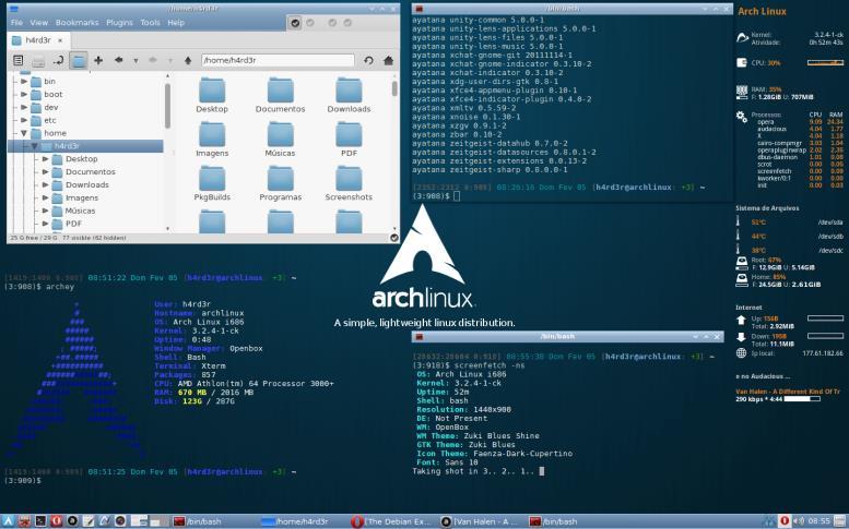 Лучший дистрибутив Linux для изучения Arch