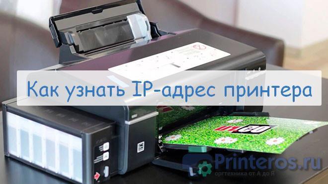 Принтер с ip-адресом