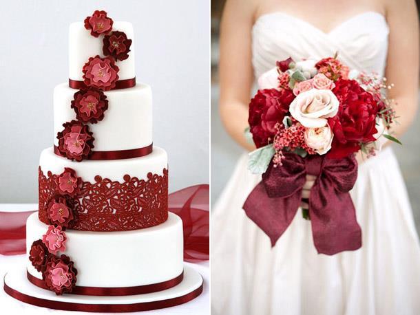 Модный цвет свадьбы 2019 - Red Pear
