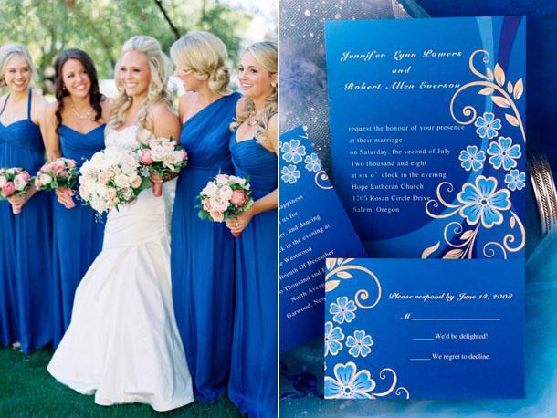 Модный цвет свадьбы 2019 - Nebulas Blue