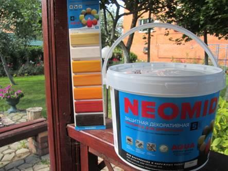 Краска Неомид