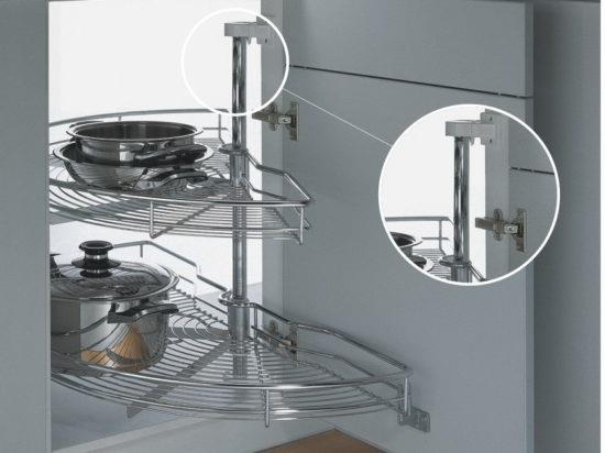 Сетка-карусель для кухни