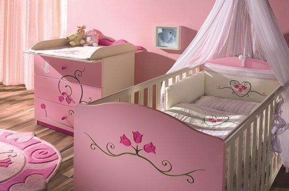 сшить балдахин девочке на кровать