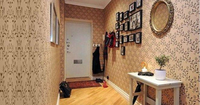 Обои для коридора и прихожей - лучшие идеи и варианты для оформления стен