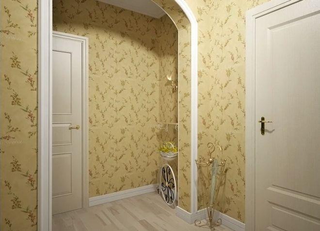 Как выбрать обои для прихожей и коридора