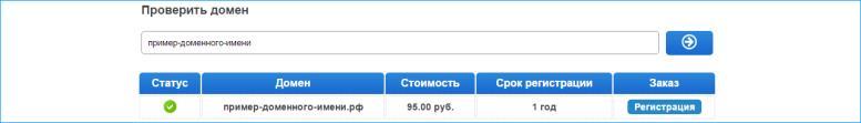 домен в кириллице