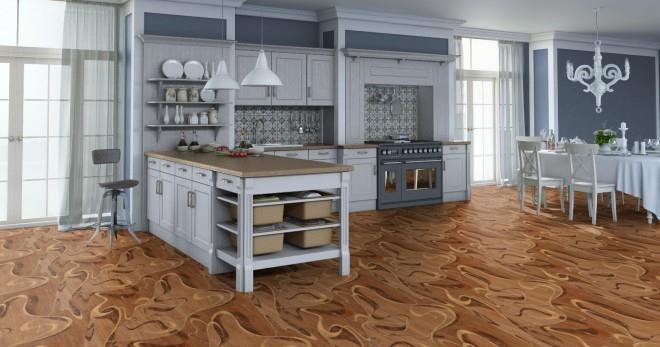 Линолеум для кухни - как понять, какой лучше выбрать класс и цвет?
