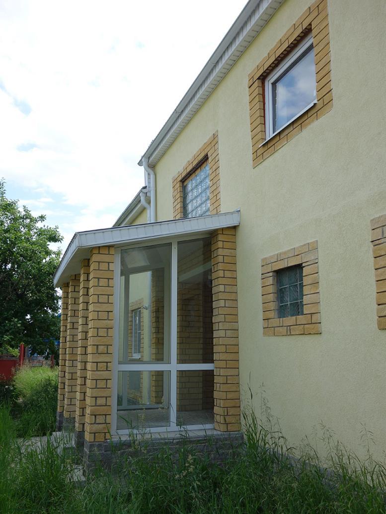 перестроенный старый дом