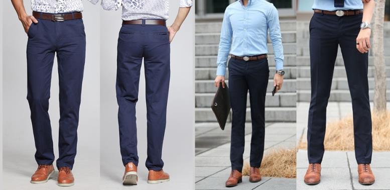 мужчины в брюках