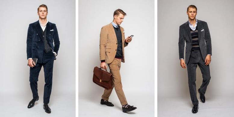 мужчины в деловом стиле