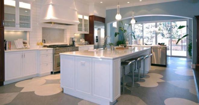 Пол для кухни, какой лучше - достоинства и недостатки современных материалов