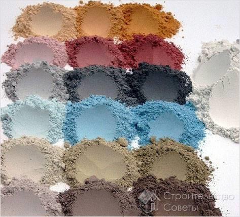 Разноцветный материал