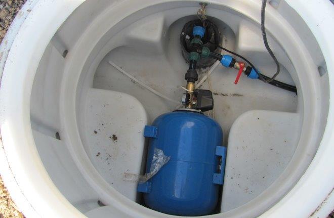 Скважина с кессоном для круглогодичного водоснабжения частного дома