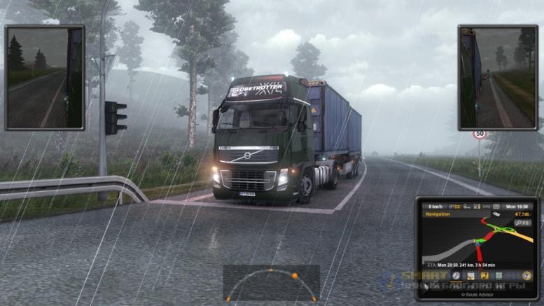 Euro Truck Simulator 2 - скриншоты из игры