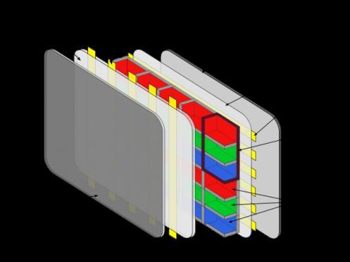 строение плазменного экрана