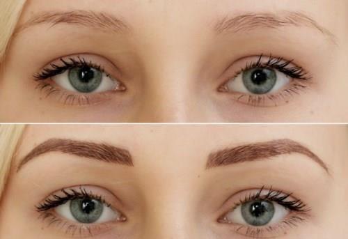Девушка с красивыми голубыми глазами и светлыми волосами