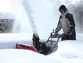 Бензиновые снегоочистители