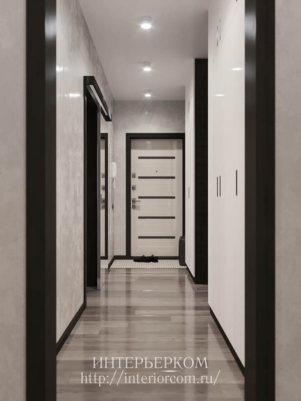 двери и плинтус в интерьере
