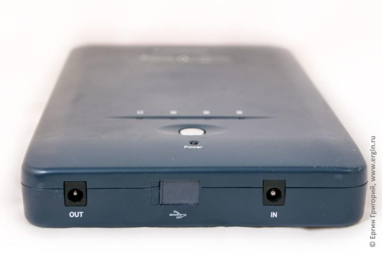 Пауэр банк для ноутбука Pitatel Notebook Power Station NPS-153, 41400mAh/153Wh (16-19V)