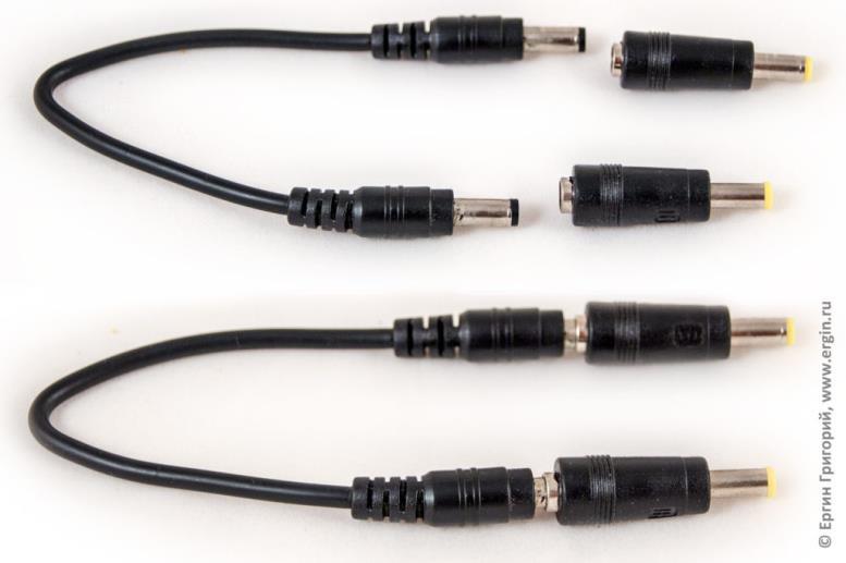 Универсальный кабель для зарядки ноутбука от любого пауэр банка