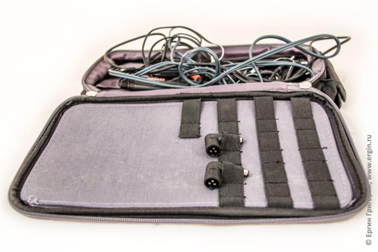 Как хранятся разъемы для Pitatel NPS-153 пауэр банк для ноутбука